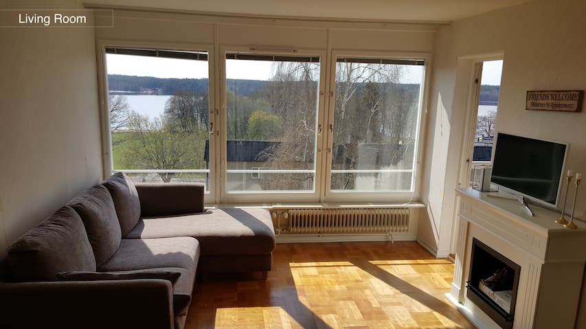 Bright room with lake view - Stockholm - Wohnung