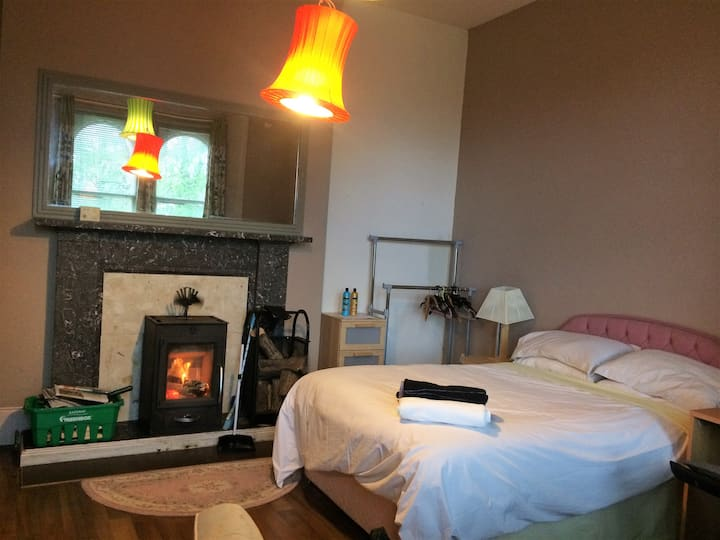 very large ensuite+logfire