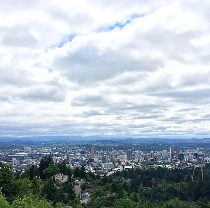View from the Pittock Mansion overlook