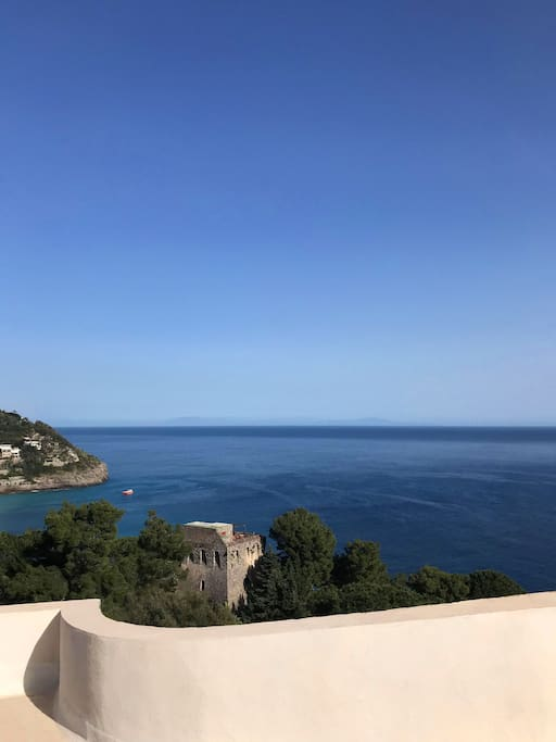 Panorama Sea From the Roof Top