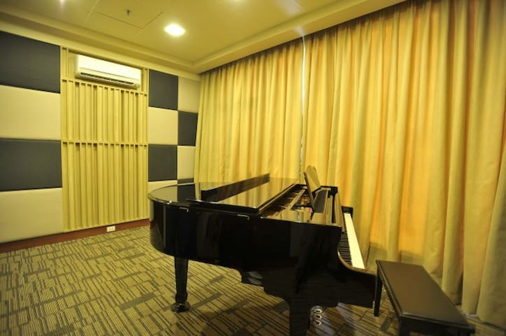 Music room with Karaoke