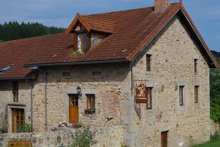 luxe gîte sfeervol,verwarmd zwembad - Bourgogne - Haus