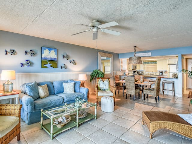 New Listing! Oceanfront Gem w/ Private Balcony