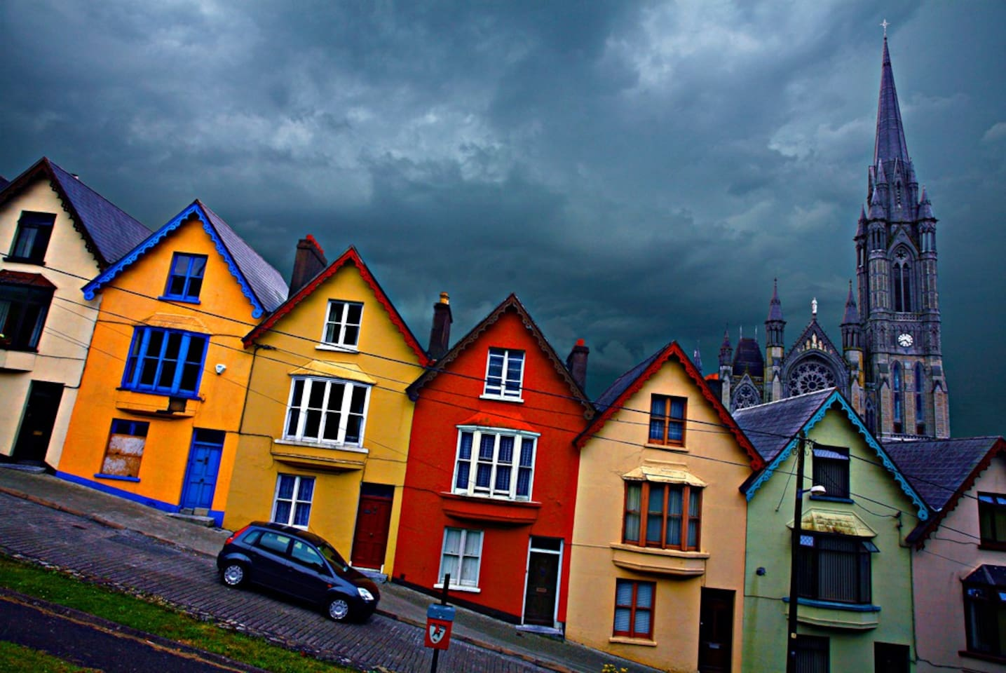 """Welcome to Cobh and the house in the famous """"Deck of cards""""!"""