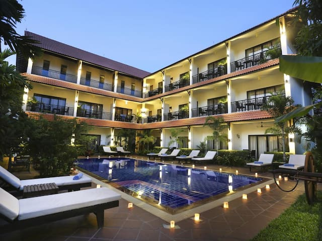 Superior Twin Room with Balcony@Siem Reap Angkor