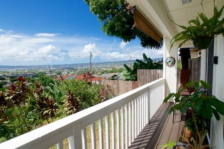 Mauka Studio with Pearl Harbor View - 30 day min