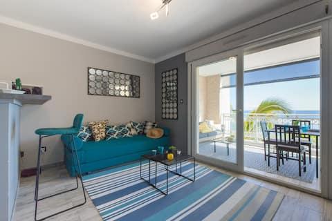Le Pétrel Blanc - appartement sur la plage