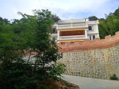 惠州南昆山岳木山庄半山别墅远观天堂顶1房1厅