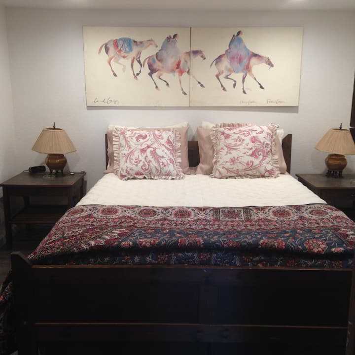Cozy one-bedroom private guesthouse in Downtown SJ