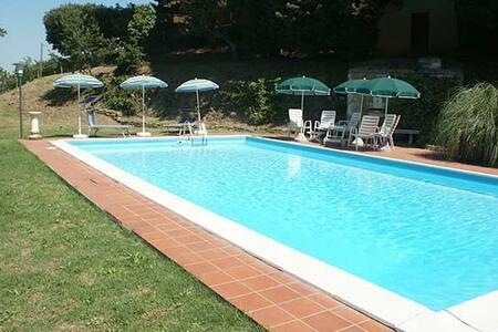 Tartagli Alti, villa with pool near Paciano Umbria - Paciano - Villa