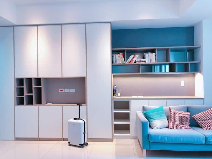 限長期租客 /Stylish/new apartment/LinkouA9/地鐵站上方購物美食