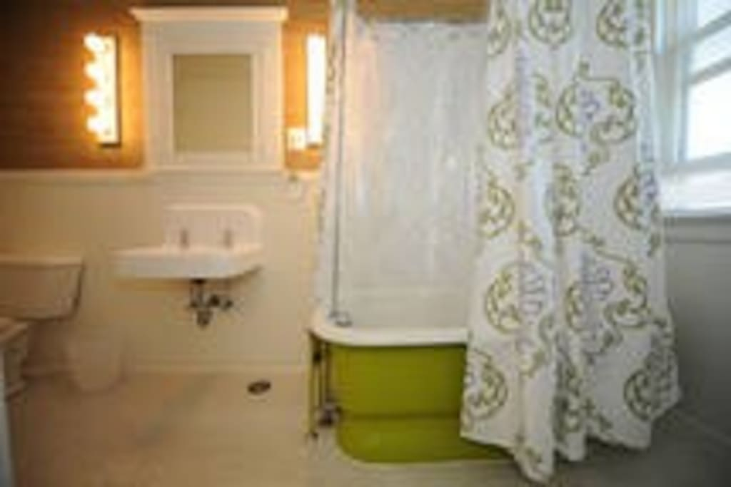 Private, adjoining full bathroom