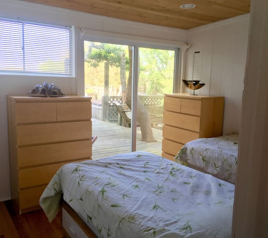 3rd bedroom with easy access to garden