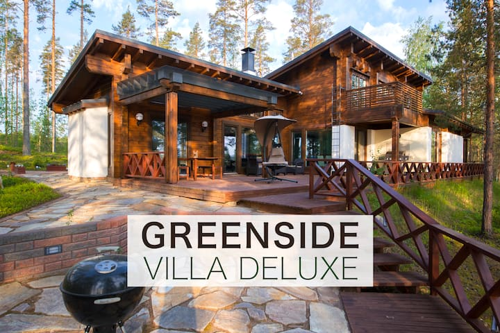 Greenside VillaDeLuxe/Savonlinna for 10