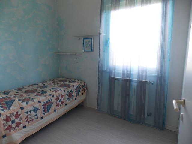 Camera con vista sulla vallata e golfo di Trieste - Muggia - Hus