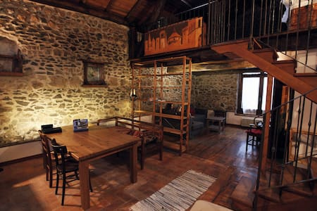A finely restored stone farmhouse