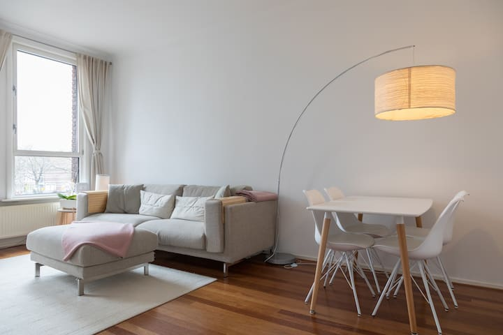 Bright, modern & cosy place with a panoramic view - Den Haag