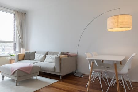 Bright, modern & cosy place with a panoramic view - Den Haag - Appartement