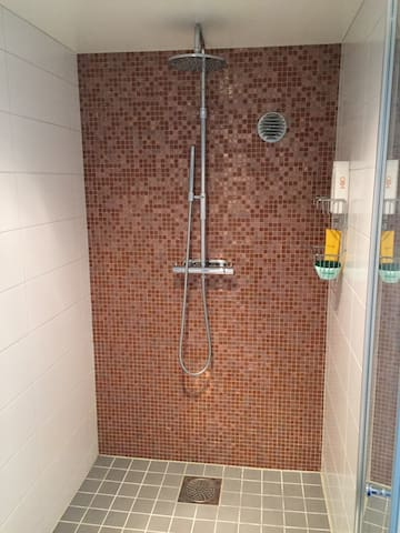 The shower in the relax