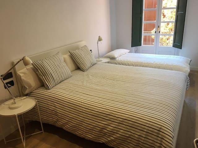 habitacion doble, posibilidad cama extra
