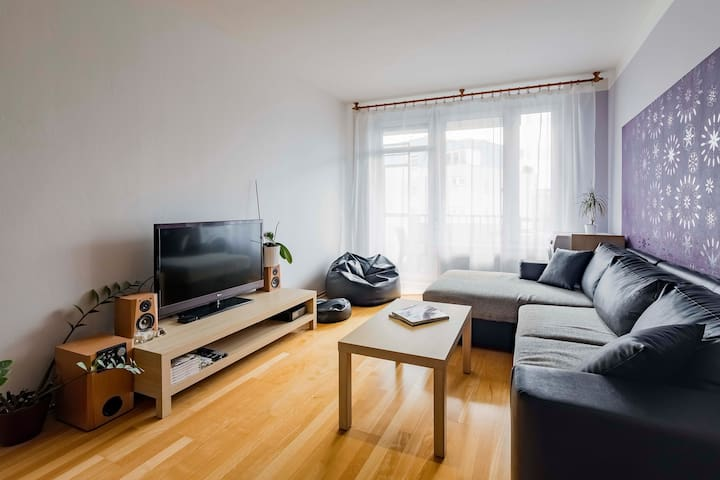 Lovely flat close to the city center