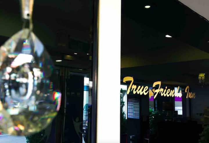 「Truefriend Inn」單人房C(1大床) 花蓮市中心/近東大門夜市、公正包子/含免費接送