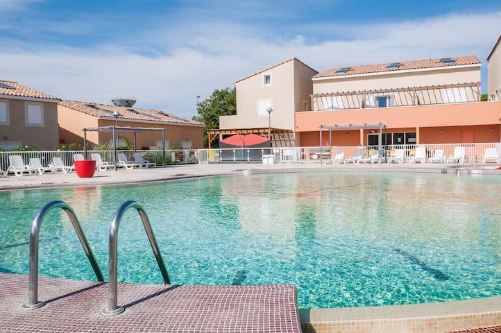 Accès Salle de Fitness + Piscine ! Maison cosy et abordable