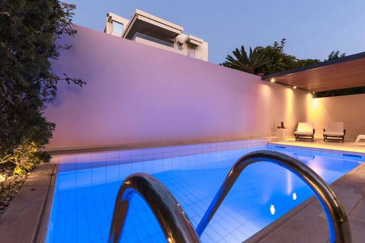 120m²Luxury Villa sea side/6persons - Σαρωνίδα Athens Greece  - วิลล่า