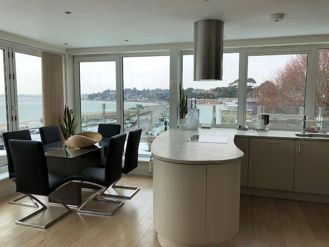 High quality penthouse 100 meters from the beach