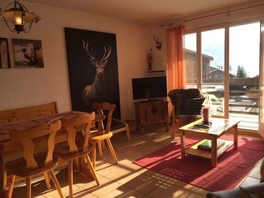 Site montanay the best location in verbier appartements for Chambre a louer verbier