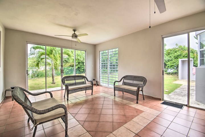 Fajardo Family Home w/ Patio - 1 Mi to Coast!