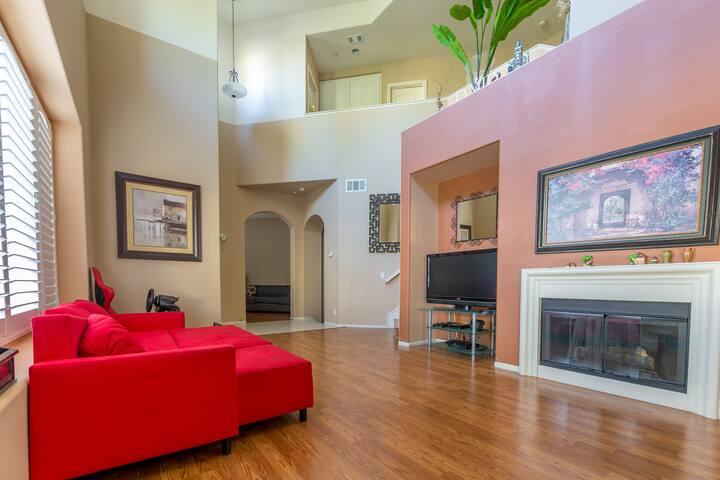 Living Room Facing The Den
