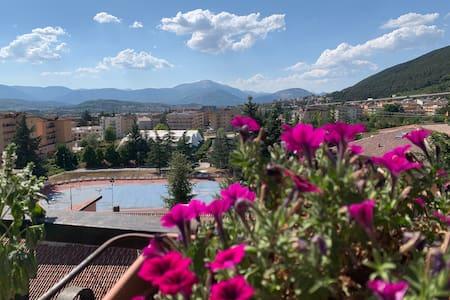 Ampio appartamento con camere a San Sisto L'Aquila