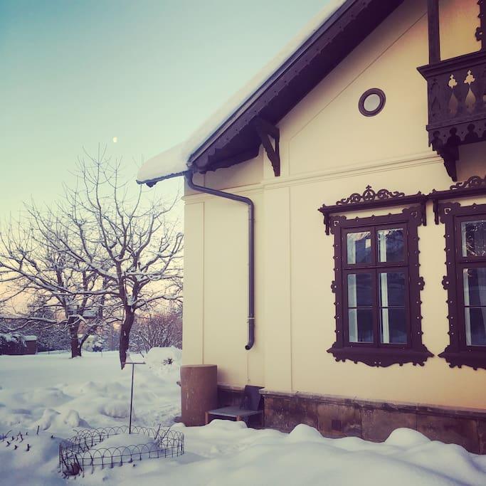 Dům zvenku
