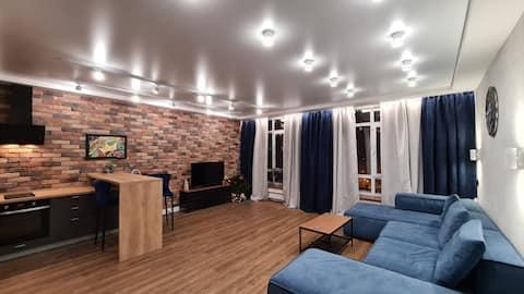 Стильная квартира-студия в  Лесной Поляне