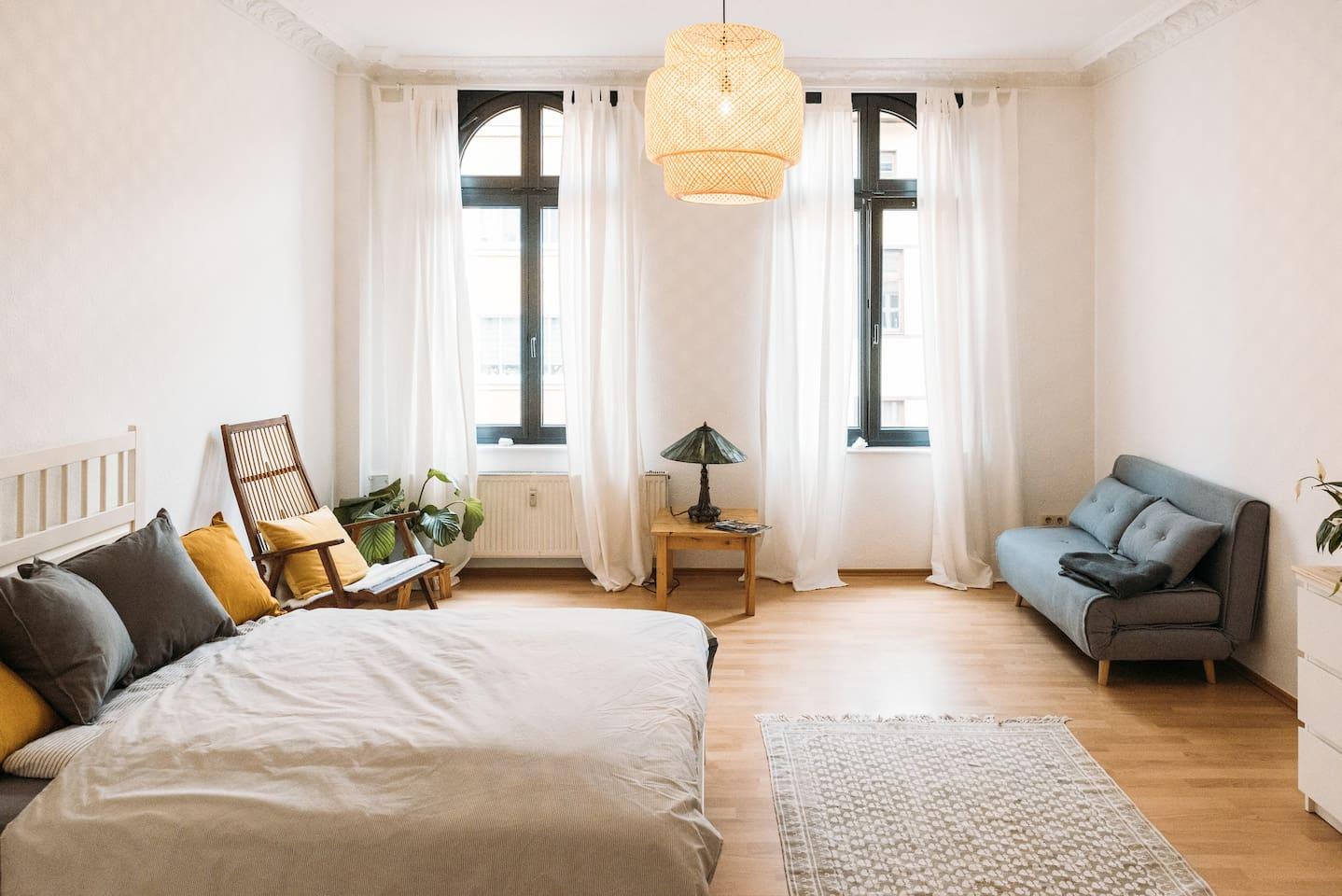 Schlaff & Wohnzimmer