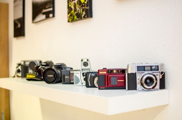 Small camera-collection / Kleine Kameraausstellung