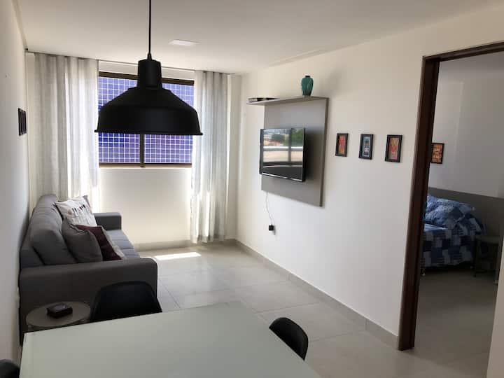 Flat moderna em Miramar