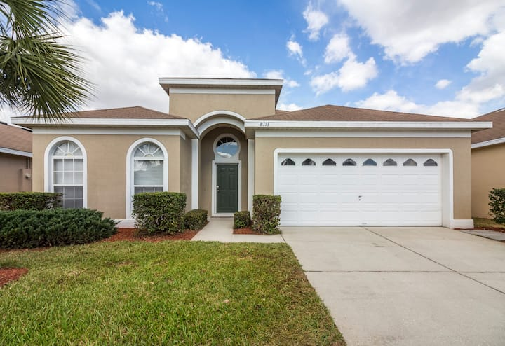 Wonderful vacation home with pool in Kissimmee
