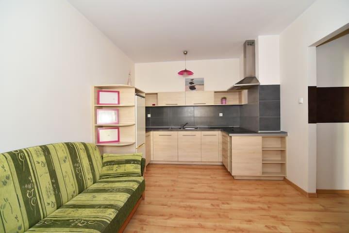 Komfortowy nowy apartament w spokojnej okolicy - Toruń - Apartment