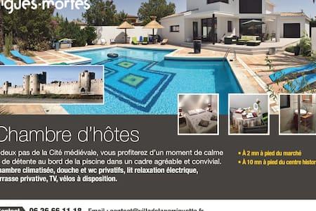 Villa de la Garriguette - Aigues-Mortes - Bed & Breakfast