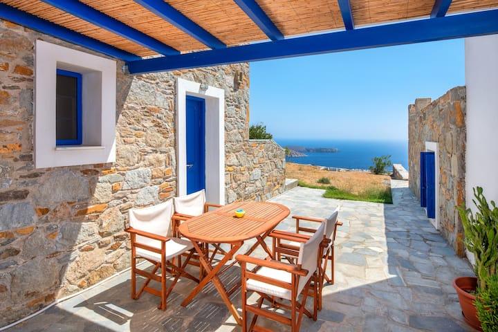 Serifos Panorama-Irini's Guest House