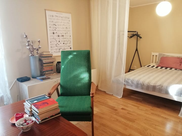 Studio-flat in Kalamaja next to Old Town & center
