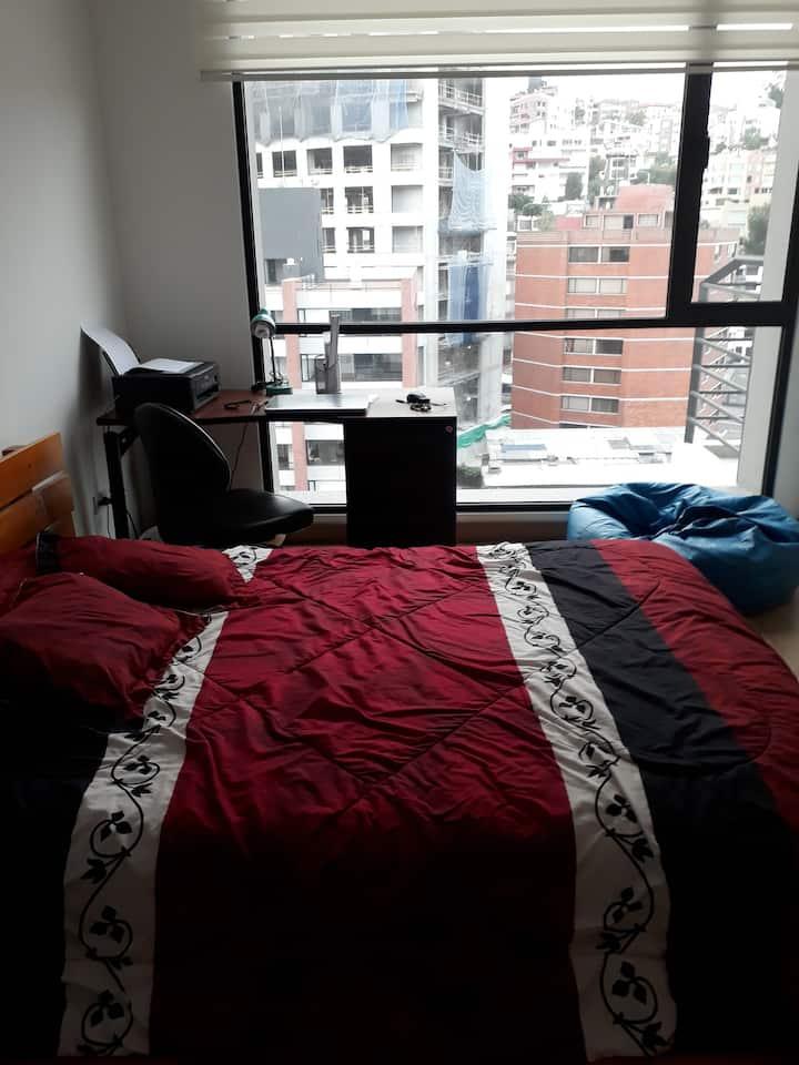 Dormitorio en lugar exclusivo de Quito