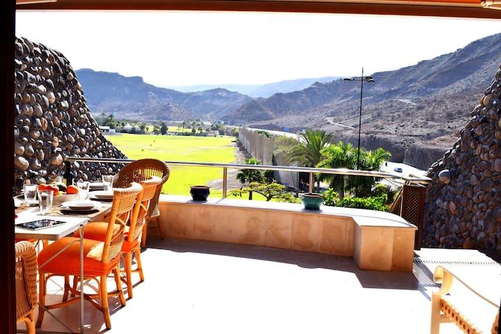 Luxury villa in Anfi Tauro Golf Course. - มอแกน - วิลล่า