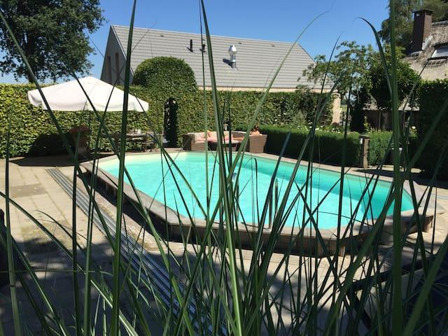 Sfeervolle B&B met sauna en zwembad! - Dalen - Apartment