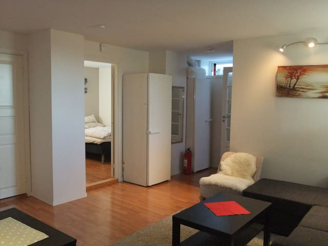 Cozy Family-friendly apartment (1 bed room)4guests - Trondheim - Apartamento