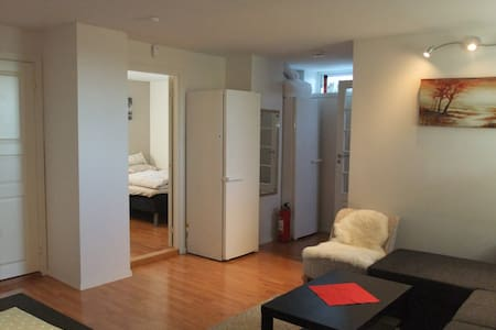 Cozy apartment (1 bed room) 4 guests - Trondheim - Apartamento