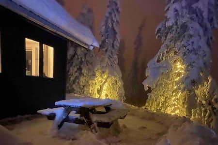 Enkel og koselig hytte i Birkenåsen, med utsikt
