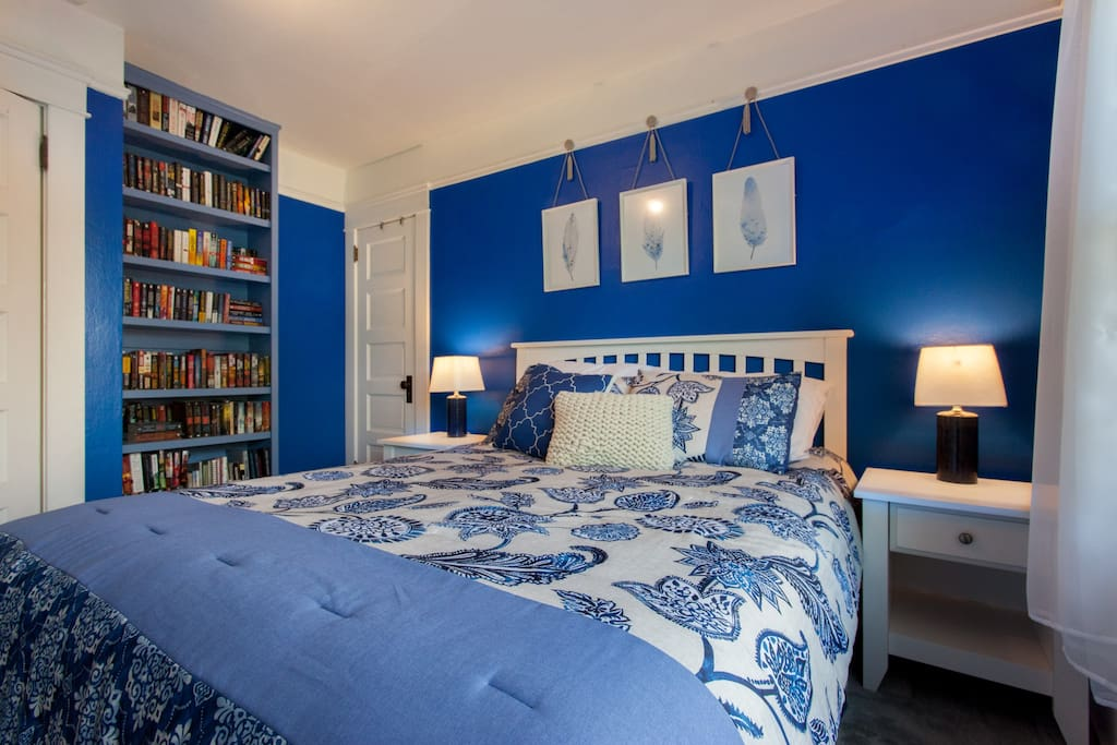 This will be your room...your home away from home.